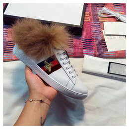 Wholesale Handmade Genuine Shoes - Ace sneaker Winter Unisex casual shoes fashion Designer shoes Handmade perfect recovery Men women shoes size 35-44 model 210621042
