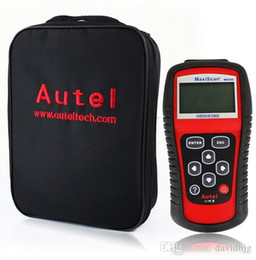 Wholesale European Auto Scanner - MaxiScan MS509 OBD2 Scanner   EOBD Auto Code Reader work for US, Asian & European cars MS509 scanner Automotive