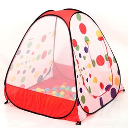 Wholesale Kids Foldable Play Tent - Free shipping Children Kids Play Tent toy game house baby beach tents indoor & outdoor tents A-0169