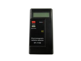 Wholesale Portable Radiation Meter - Free shipping!! CE Certificated Digital EMF Meter Dosimeter Tester, portable electromagnetic radiation detector, hot sale and high quality.