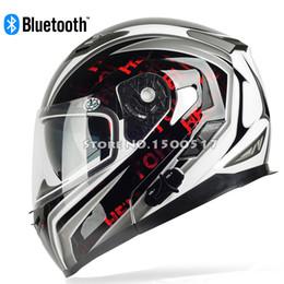 Wholesale Xxl Helmet Modular - Wholesale-Built-in Bluetooth Motorcycle Helmet   YOHE Modular Flip Up Motorcycle helmet Capacete with BT Bluetooth Intercom Headset