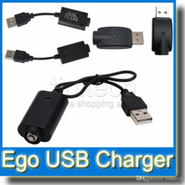 Wholesale Ego Q Twist Kit - EGO Charger USB Long Short Wireless Cable for EGO-T K Q Vision Spinner Battery EVOD Twist 510 Batteries Electronic Cigarette Kit