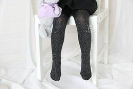 Wholesale Bling Tights - 2016 Spring New Girl Tights Cotton Bling Stockings Children Warm Fashion Stockings 0-4T 15081