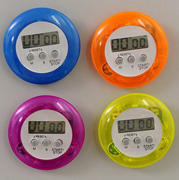 Wholesale Count Hours - novelty digital kitchen timer Kitchen helper Mini Digital LCD Kitchen Count Down Clip Timer Alarm fast shipping