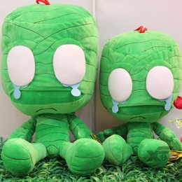 Wholesale Big Huge Cute - Cute Mummy League of Legends stuff plush big Amumu action figure 40CM 50CM huge plush doll LOL large Stuffed Toys GOOD QUALITY