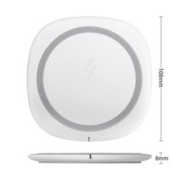 Wholesale Huawei Pads - Qi Wireless Charger Pad Power Fast Charging 10W for iphone Samsung Huawei And all smartphones With Retail Box