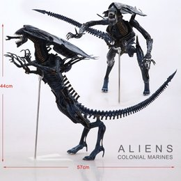 """Wholesale Alien Queen Toy - Wholesale-Free Shipping NECA Big 15"""" Aliens Alien Queen Deluxe Boxed PVC Action Figure Limited Edition Collection Model Toy Gift"""