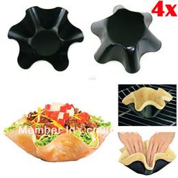 Wholesale Tortilla Pans - 60SETS LOT=240PCS DHL FREE SHIPPING Perfect Tortilla Pan 1207#07