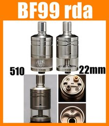 Wholesale Wholesale 99 - 2015 Best newest BF-99 RBA Atomizer BF99 RDA Stainless Steel Tank Vapor 22mm Adjustable airflow free shipping ATB272