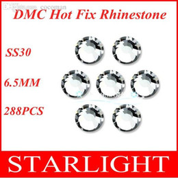 Wholesale China Mail - Wholesale-DMC rhinestone, Crystal Clear SS30,288pcs lot,China post air mail free