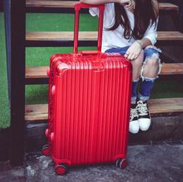 Wholesale Pink Spinner Luggage - Super large suitcase male 30 inch aluminum frame pull box female 24 universal wheel 26 wedding suitcase 28 inch retro suitcase