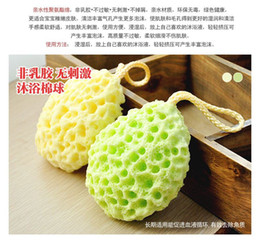 Wholesale Wash Cotton Puff - 10x Makeup Puff Facial Cleansing Puff Exfoliation Removedor Wash Flutter Sponge Cleansing Cotton Remover Chrysanthemum Green tea