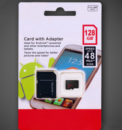 Wholesale Transflash Cards - 128GB Micro SD Card MicroSDXC UHS-I Card with Adapter 128GB Class 10 TF Card Ideal for Android Phones Other Smartphones Tablets