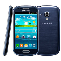 Wholesale galaxy s3 mini black - Original Samsung I8190 Galaxy SIII S3 mini Mobile Phone 1G RAM 8G ROM Dual-core Android Refurbished Smartphone