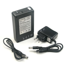Wholesale Lithium Ion 12v Battery Pack - 12V Battery Pack Rechargeable Lithiumion Battery DC 12V 6800mAh Li-ion Battery Portable Super Capacity Power for Monitor Camera