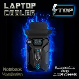 Wholesale China Pads - Suction Type External Laptop Cooler High Performance USB Fan Turbine Technology Suporte Para Notebook Ventilation Cooling Pad