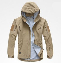Wholesale Tad Spectre Hardshell - Fall-Top Quality TAD Gear Spectre Hardshell Jacket Outdoor Military Tactical Waterproof Windproof Sports Jackets