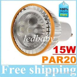 Dimmable E27 E26 PAR20 a mené la lumière 15W 5X3W GU10 d'ampoules menée la lampe de CREE de Downlights chaud / Natrual / blanc froid 720lm CA 110-240V ? partir de fabricateur