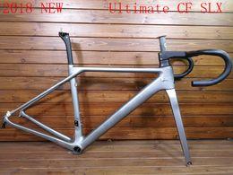 Wholesale Xs Frameset - 2018 NEW T1000 UD CF SLX carbon full carbon road bike frame racing bicycle frameset taiwan frames size XXS XS S M XDB free customs duty ship