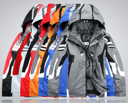 Wholesale Sleeves Spider - Hot Fall-High Quality New Outdoor Men's Ski suit Warm Spider Jacket waterproof cotton coat Man Climbing Skiing Ski Jacket Free Shipping