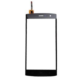 2019 display lcd lc nexus schermo Lente di vetro del convertitore analogico / digitale del touch screen nero per Homtom HT7 / HT7 Pro compatibile