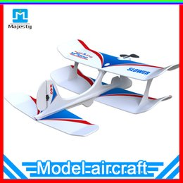Wholesale Radio Planes - Top Selling Majesty Safe & Stablity Aircraft Uplane Bluetooth 4.0 Smart Phone Gravity Sensing RC Airplane Model Mini Fixed-wing Plane
