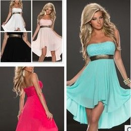 Wholesale Strapless Clubwear Dresses - Chiffon Dress with sequins sexy underwear Sexy lingerie, S M L XL XXL Women NONE Sleeves clubwear dress club dress