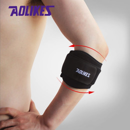 Wholesale Free Armbands - Free shipping NEW Tennis Elbow Support Pad Fitness Basketball Armband Compression Codera Guard Protector Sports Safety