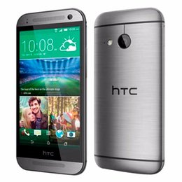 Wholesale Android Qualcomm - Refurbished Original HTC One M8 Mini 2 Cell Phone 1GB 16GB 4.5 inch 13MP Android 4.4 Qualcomm Snapdragon 400