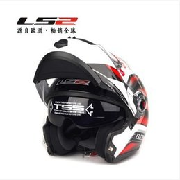 Wholesale Ls2 Helmets Uv - Wholesale-Free shipping Double Lens Full face Helmets LS2-FF370 Anti-UV Helmet Motorcycle Helmets version upgrade
