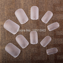 2019 cute nails diamonds Atacado-ultrafinos Airbrush Dicas de Cobertura Completa Unhas Postiças Francês Acrílico Artificial Nail Art Tips 500 pcs