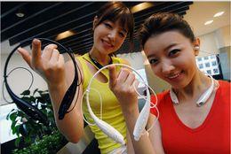 Wholesale Earphones For Iphone5 - HBS-730 Wireless Sport Neckband Headset In-ear Headphone Bluetooth Stereo Earphones Earphone Headsets For iphone5 5S S4 Note 3 Free DHL
