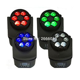 Wholesale moving head light 15w - 4pcs lot 6*15W RGBW 4in1 LED Mini Bee Eye Beam Light DMX512 Moving Head stage effect Lighting