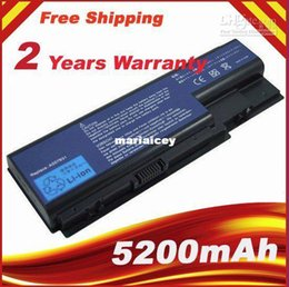 Wholesale Acer Aspire 7736 - High quality- HOT- Laptop battery for Acer Aspire 7535 7720 7730 7735 7736 7738 7740 Battery AS07B31 AS07B41 AS07B51