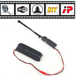 Wholesale Wireless Wifi Spy Cameras - mini camera SPY Hidden Camera Video wifi P2P ID DIY Module Mini DV DVR Wireless Spy Surveillance Camera