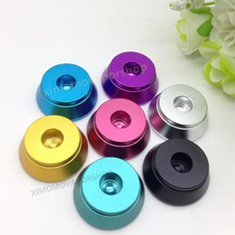 Wholesale Black Plumes - 100pcs black Metal Holder Clearomizer Base Atomizer Stand display for plume veil 510 Clearomizer RDA high quality
