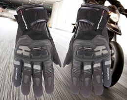 Wholesale Scoyco Gloves Waterproof - Free Shipping Scoyco MC17B motorcycle gloves TOUCH SENSITIVE DEVICE FOR IPHONE & IPAD Waterproof Gloves Windproof Warm