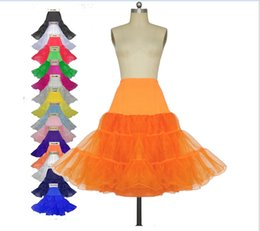 Wholesale Net Wedding Petticoats - DHgate Wholesale Petticoats Wedding 2016 Underskirt Cheapest Modest Colorful Vintage Petticoat Fancy Net Skirt 8 Color Choose Free Shipping
