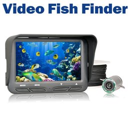 Wholesale Ice Fishing Lcd Fish Finders - 720P Underwater Ice Video Fishing Camera 4.3 inch LCD Monitor 6 LED Night Vision Camera 30m Cable Visual Fish Finder