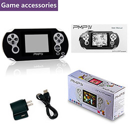 Wholesale Mp5 Game Player Android - PMP4 PXP4 32Bit 3inch LCD Screen Handheld Game Console Pocket Video Game Player Portable System MP3 MP4 MP5 TV Out Media Player YX-PMP4