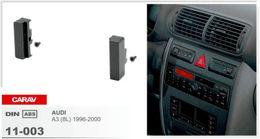 Wholesale Car Stereo Fascia - CARAV 11-003 Top Quality Car Fascia Panel Frame for Audi A3 Radio Stereo Facia Dash CD Trim Installation Kit Surround Fitting ONE Din