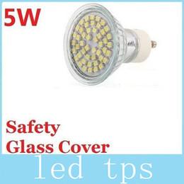 Wholesale Cree Mr16 12v Leds - Led GU10 E27 MR16 Lights Lamp 5W 48 Leds SMD 3528 Led Bulbs Light 120 Angle Cool White Warm White 110-240V 12V