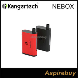 Wholesale Box Integration - Clearance!100% Original Kanger NEBOX Starter Kit Blue First Integration of Temperature Control Mod And Tank 60W Box Mod and 10ML Tank
