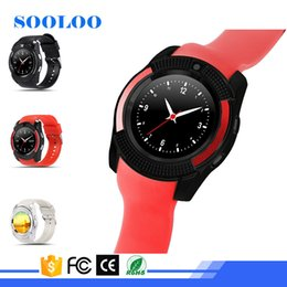 Wholesale Cheap Mobile Watch Phones - cheap V8 Smartwatch Android V8 Smart Watches SIM Intelligent Mobile Phone Watch Sleep State Smart Watch