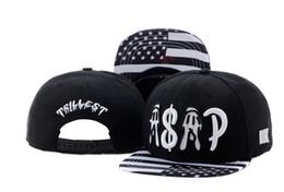 Wholesale Cap Snapback Asap - 2016 adjustable summer caps black CAYLER & SONS TRILLEST ASAP usa flag snapback caps Cayler and sons fashion hiphop street dance hats TY