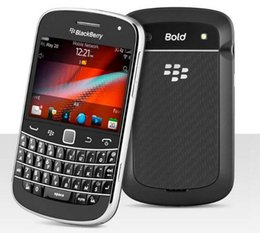 2.8 telefoni cellulari online-Smart Phone originale Blackberry Bold Touch 9900 Cellulari AZERTY QWERTY 2.8 pollici WiFi GPS 5.0MP Smart Phone rinnovato