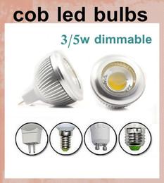 Ángulo de iluminación mr16 online-envío libre de dhl Dimmable 3w 5w MR16 E27 E26 GU10 LED focos bombillas luz cálida / natrual / fría luces led blancas 60 ángulo de haz 110-240V 12V DB015