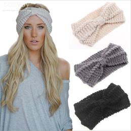 Womens Ladies Winter Autumn Warm Crochet Beanies Headbands Head Wrap Turban Bandanas  Hats hair accessories headwear WHA35 8e7ebdc32629