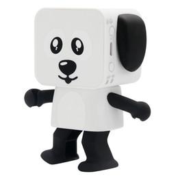 Canada 2018 Top qualité Mini Bluetooth Haut-parleur Smart Dancing Dog Haut-parleurs Nouveau Multi Portable Bluetooth Haut-parleurs Haut-parleur Creative Christmas Gift Offre