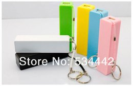 Wholesale Power Bank Galaxy S4 - 10PCS Perfume Mobile power for samsung Galaxy s4 s3 note2 Universal USB External Backup Battery mini Power Bank for iPhone 4s 5
